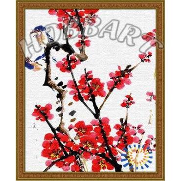 Четыре благородных цветка: Слива