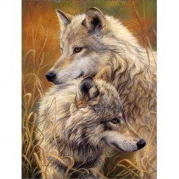 Алмазная вышивка Волчья нежность