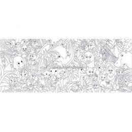 Плакат-раскраска «Джунгли» (60х150 см)