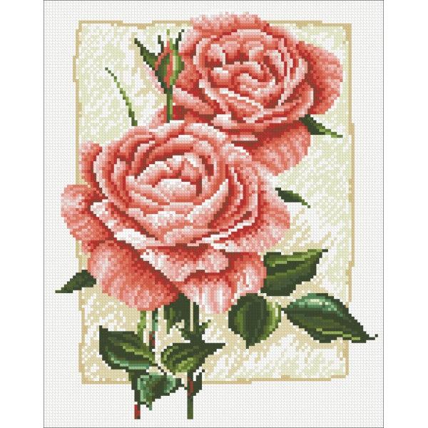 Алмазная вышивка Садовая роза