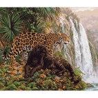Хищники у водопада