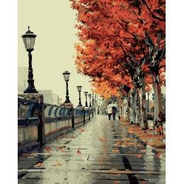 Осенний бульвар