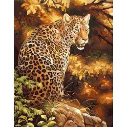 Леопард в осеннем золоте