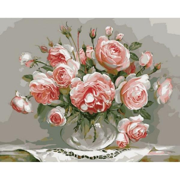 Нежность утренних роз