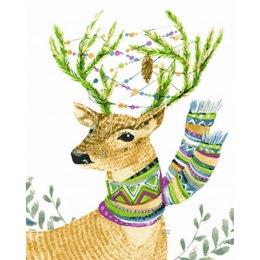 Праздничный олень