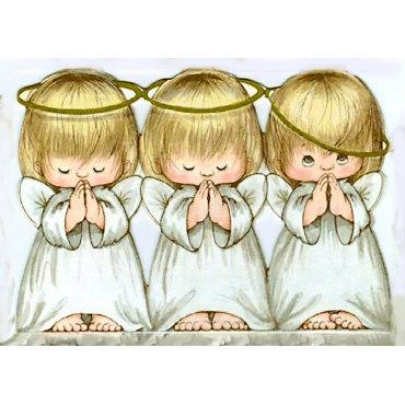 Алмазная вышивка Ангелочки