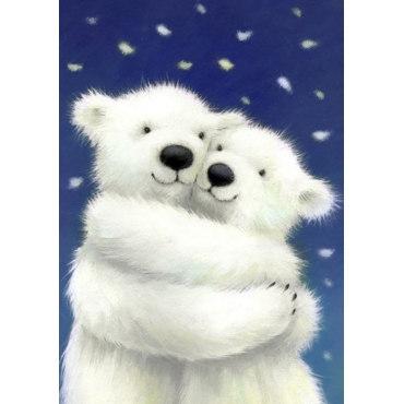 Алмазная вышивка Снежно-нежно