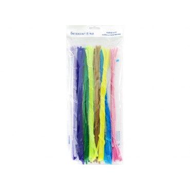 Пушистая проволока Шенил (для детского творчества) 8 цветов