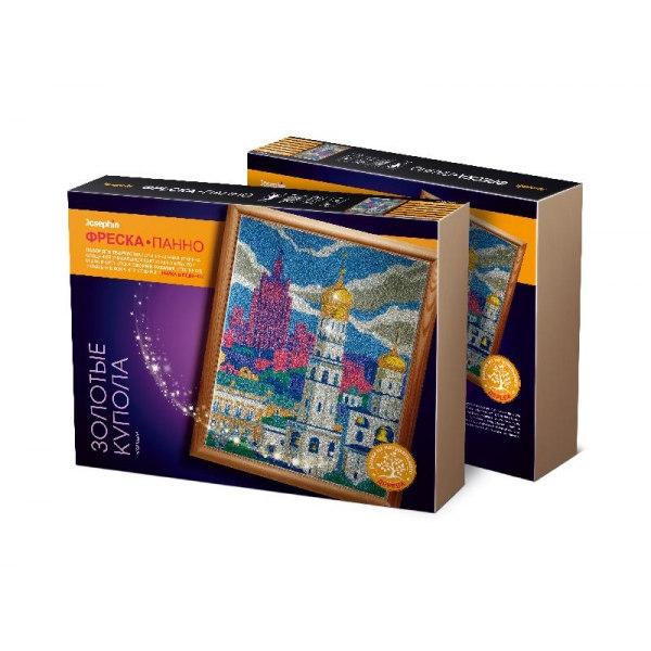 Фреска-панно «Города. Золотые купола»