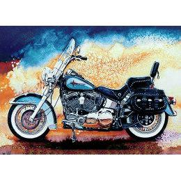 Алмазная вышивка Мотоцикл