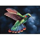 Алмазная вышивка Тропическая птичка