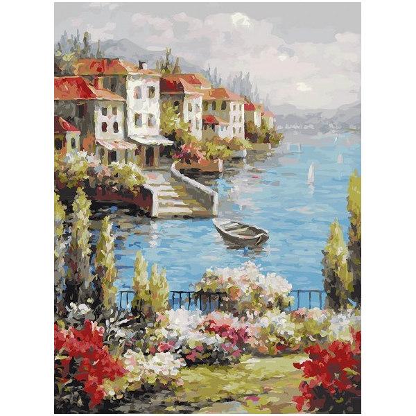 Городок на берегу
