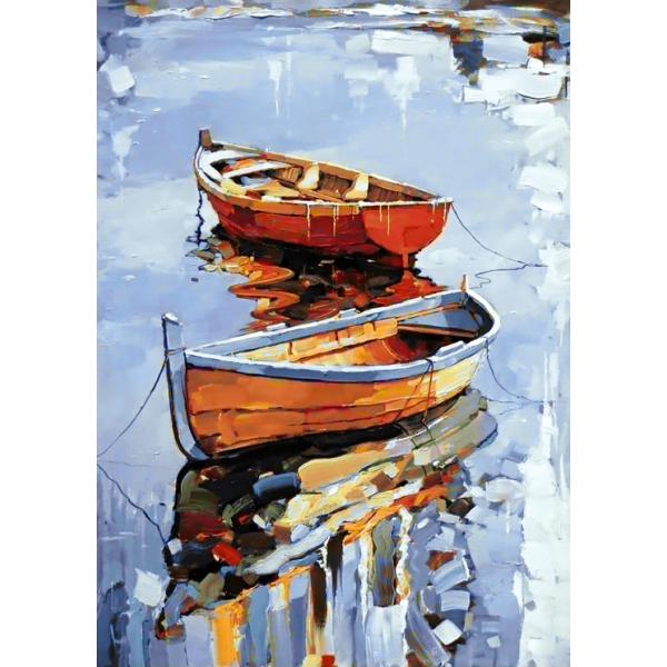 Алмазная вышивка Лодки