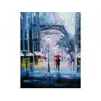 Картина по номерам Артвентура «Романтика дождя»