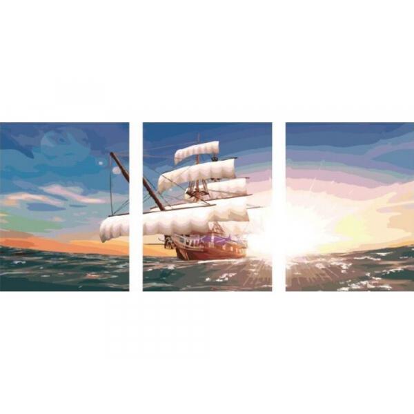 Триптих по номерам «Парусник»