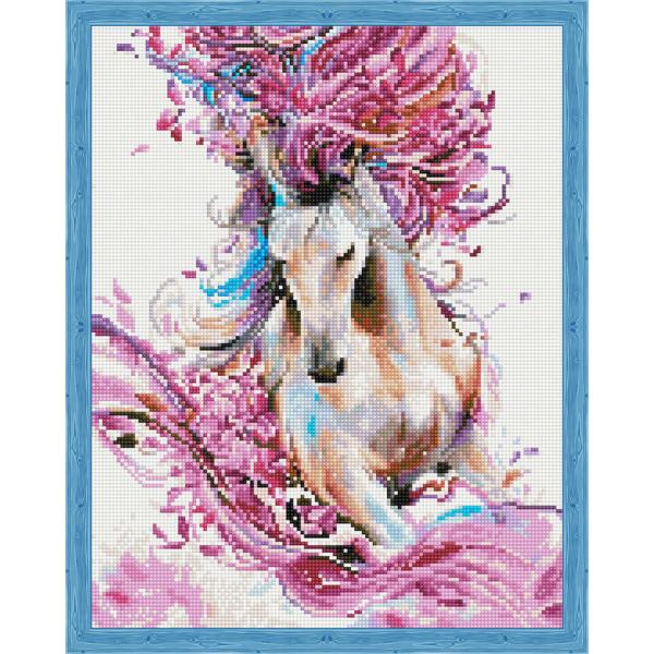 Грациозная лошадь «Алмазная вышивка»