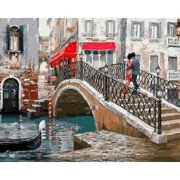 Влюбленные на мосту в Венеции