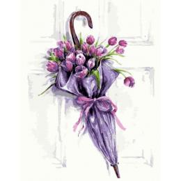 Цветочный зонт
