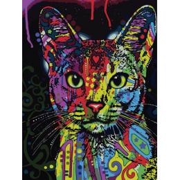 Кошка поп арт