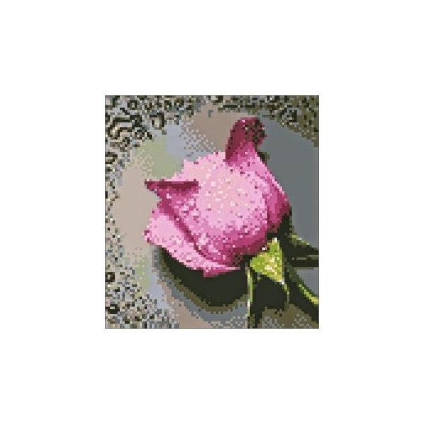 Алмазная вышивка Розовая роза