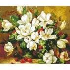 Алмазная вышивка Букет цветов