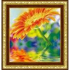 Алмазная вышивка Солнечный цветок